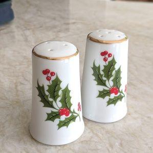 Caldor Christmas Holiday Salt & Pepper Shakers